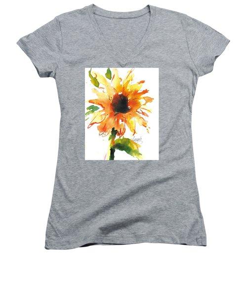 Sunflower Too - A Study Women's V-Neck