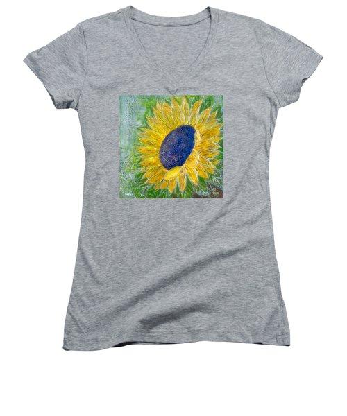 Sunflower Praises Women's V-Neck