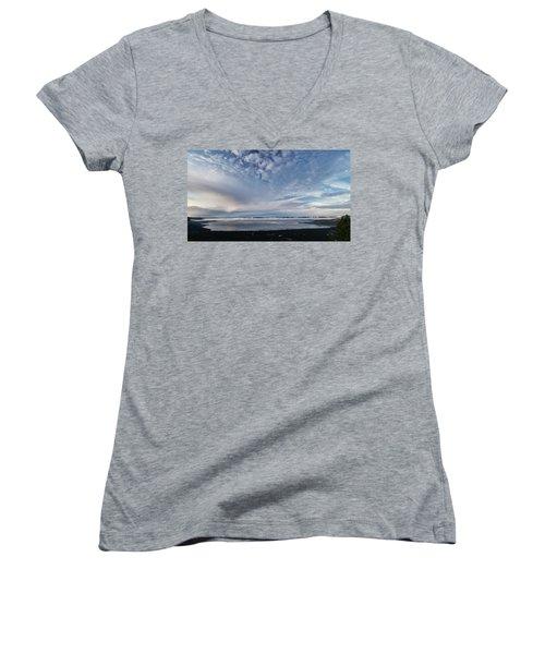 Tahoe Sky Women's V-Neck