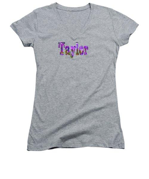 Taylor Women's V-Neck