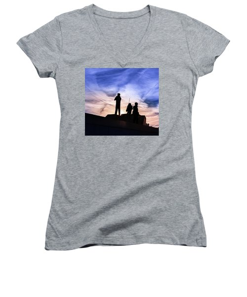 The Canadian Peacekeepers Women's V-Neck