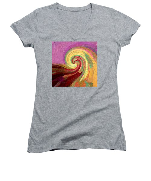 The Consumption Of Fire Women's V-Neck