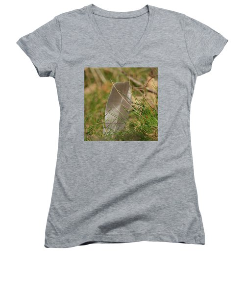 The Feather Women's V-Neck