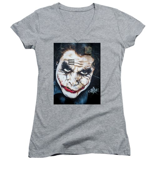 The Joker Women's V-Neck (Athletic Fit)