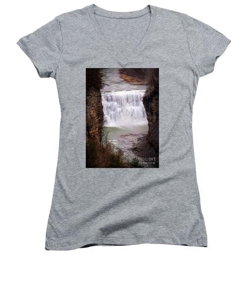 The Middle Falls Women's V-Neck