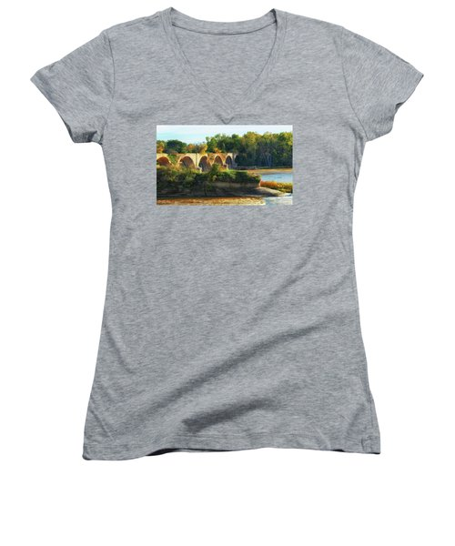 The Old Bridge  Women's V-Neck