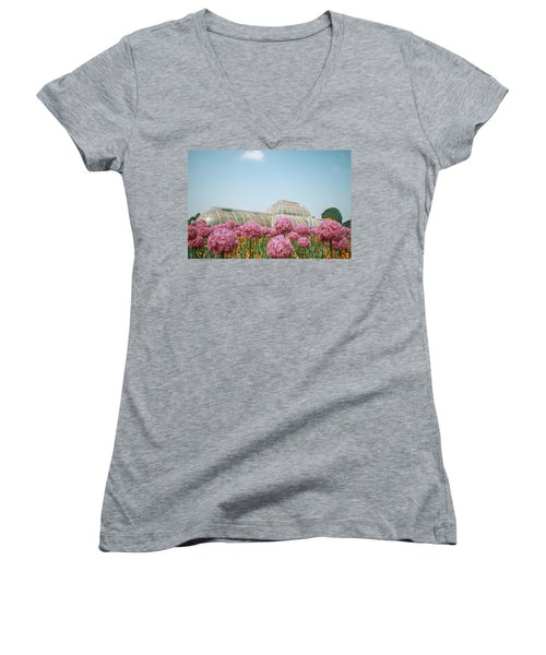 The Palm House Women's V-Neck