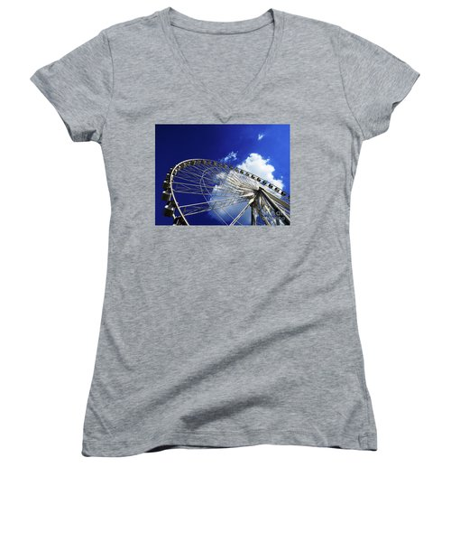The Ride To Acrophobia Women's V-Neck