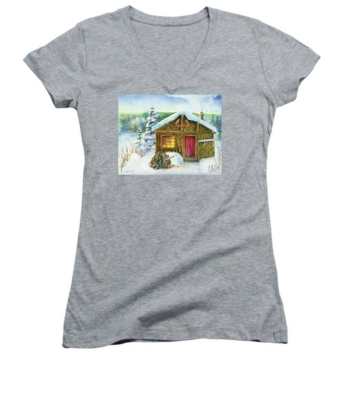 The Shack Women's V-Neck