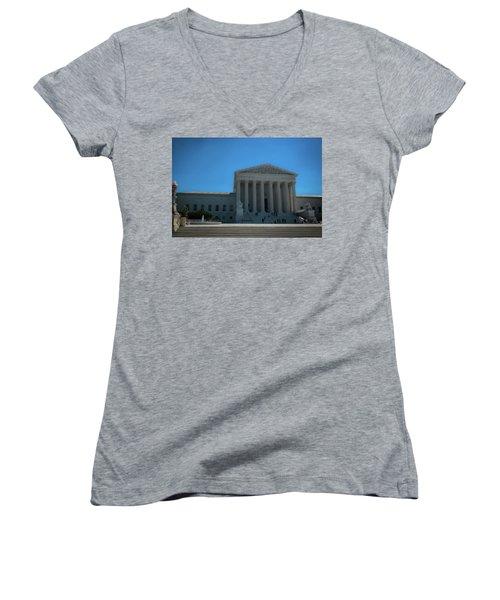 The Supreme Court Women's V-Neck