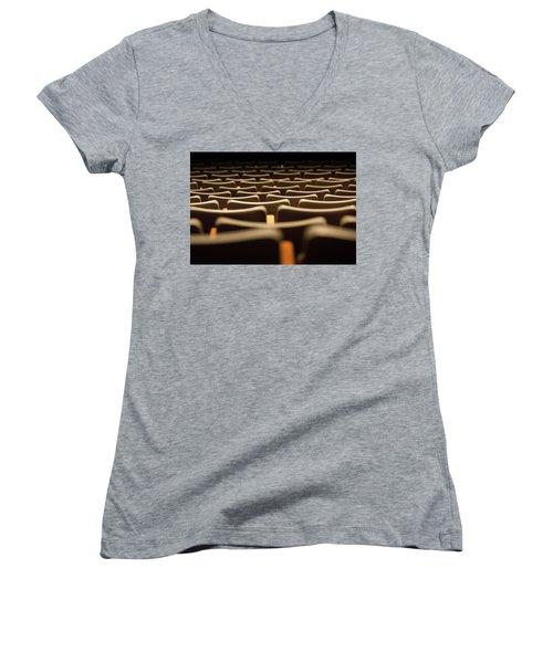 Theater Seats Women's V-Neck