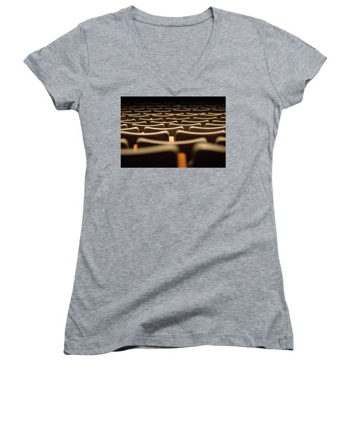 Theater Seats Women's V-Neck