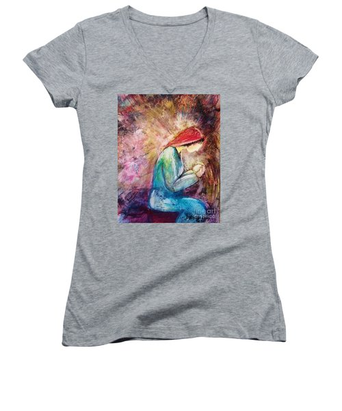 Tiny Treasure Women's V-Neck