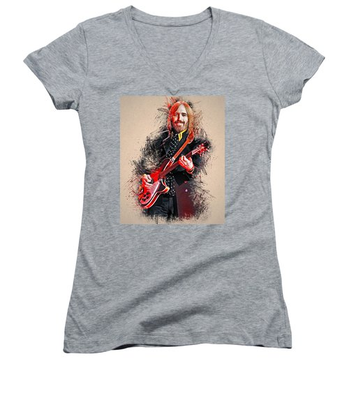 Tom Petty - 35 Women's V-Neck