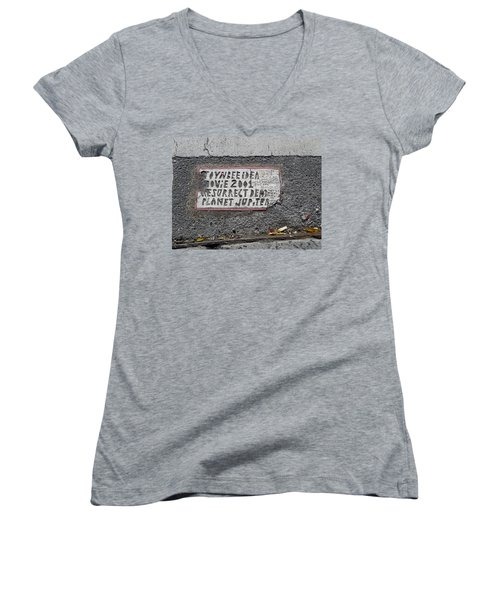 Toynbee Tile Nyc Women's V-Neck