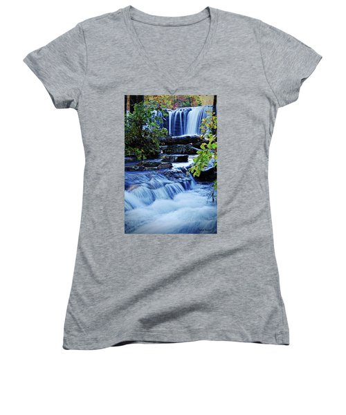 Tranquil Waters  Women's V-Neck