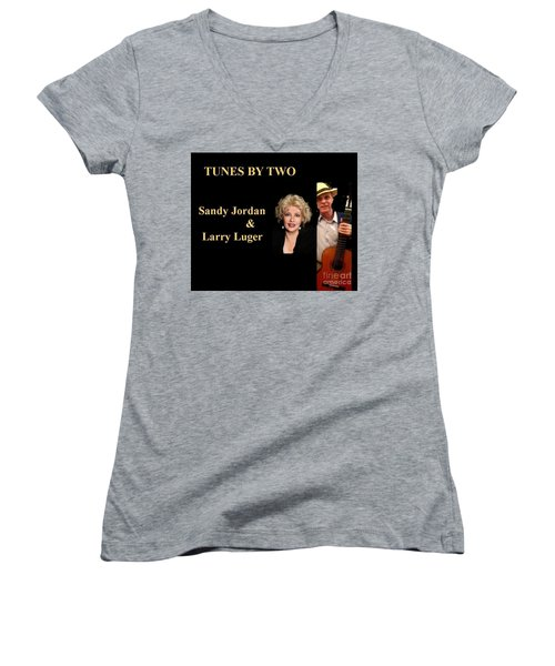 Tunes By Two Women's V-Neck