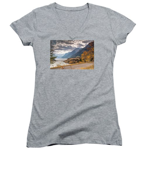 Upper Waterton Lakes Women's V-Neck