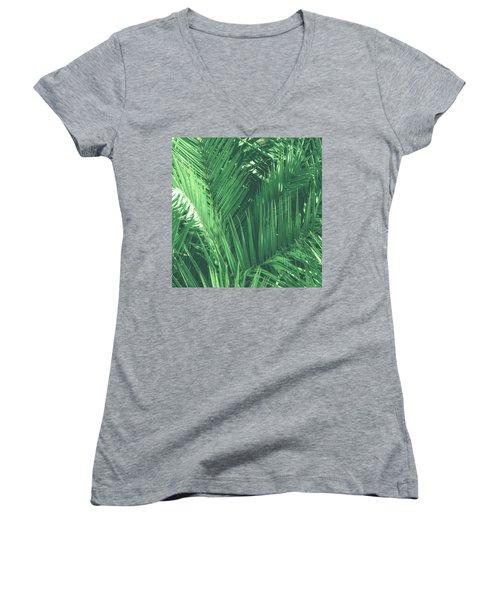 Vintage Palms I Women's V-Neck