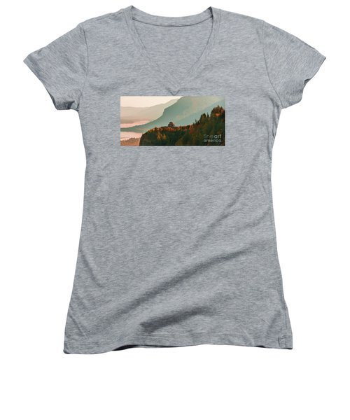 Vista House Women's V-Neck
