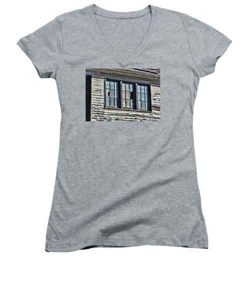 Warehouse Windows Women's V-Neck