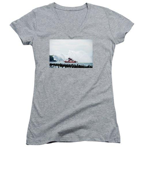 Water Boat Women's V-Neck