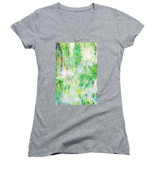 Water Colored  Women's V-Neck
