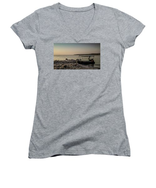 Where Have All The Sailors Gone?  Women's V-Neck