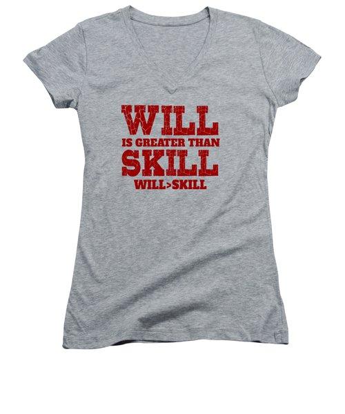 Will Skill Women's V-Neck