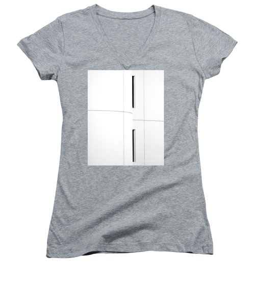 Window Abstract Women's V-Neck