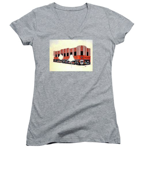 Woolworth On Market St. Women's V-Neck