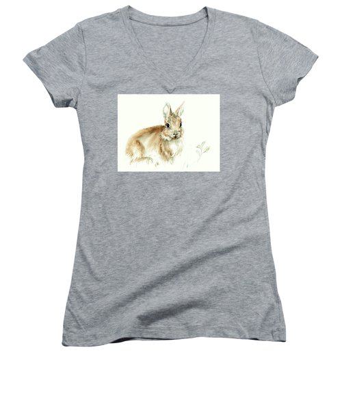 Young Rabbit Women's V-Neck