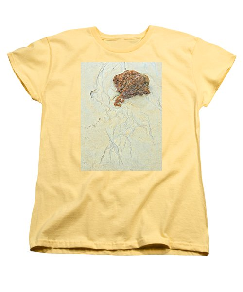 Beach Sand  2 Women's T-Shirt (Standard Cut) by Marcia Lee Jones