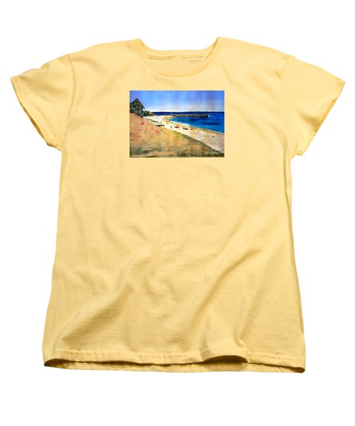 Cottesloe Beach Women's T-Shirt (Standard Cut) by Therese Alcorn