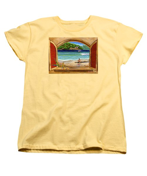 Deep In Thought Women's T-Shirt (Standard Cut) by Laura Forde