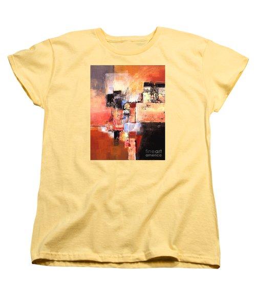 Depth Of Shadows Women's T-Shirt (Standard Cut) by Glory Wood