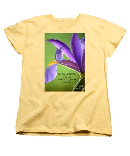 Hope Women's T-Shirt (Standard Cut) by Deb Halloran