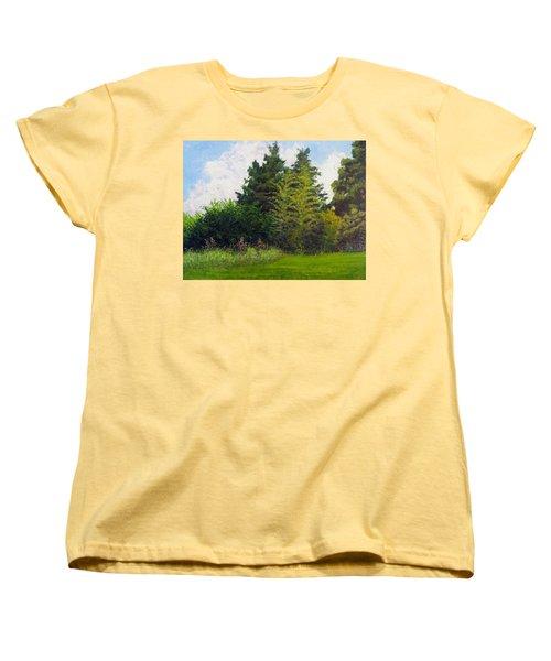 Summer Women's T-Shirt (Standard Cut) by Jeanette Jarmon