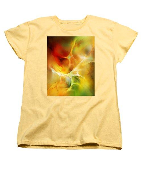 Women's T-Shirt (Standard Cut) featuring the digital art The Heart Of The Matter by David Lane
