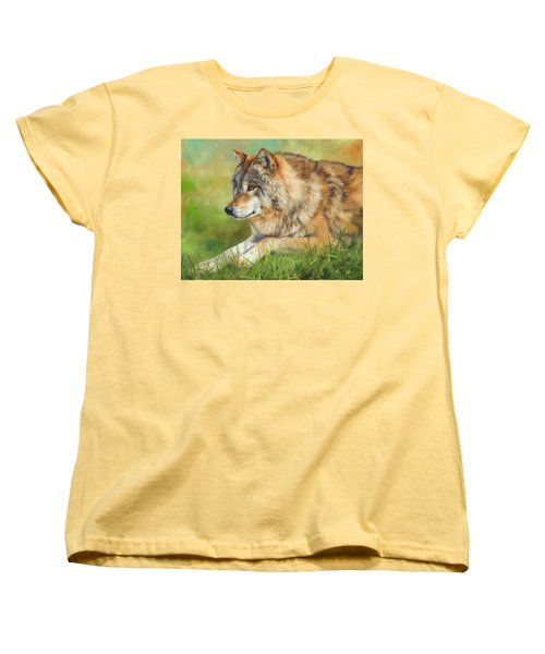 Grey Wolf Women's T-Shirt (Standard Cut)
