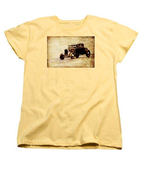 Hot Rod Ford Women's T-Shirt (Standard Cut) by Steve McKinzie
