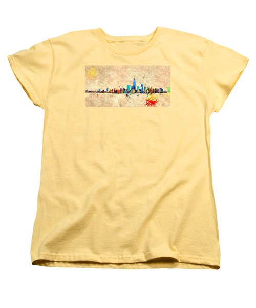 Nyc Grunge Women's T-Shirt (Standard Cut)