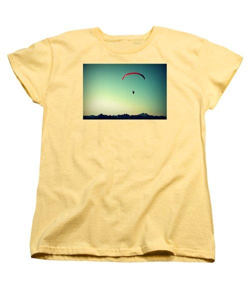 Paraglider Women's T-Shirt (Standard Cut)