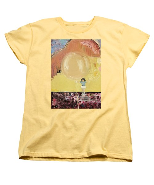 Playground Women's T-Shirt (Standard Cut) by Evelina Popilian