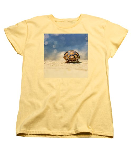 Road Warrior Women's T-Shirt (Standard Cut) by Laura Fasulo