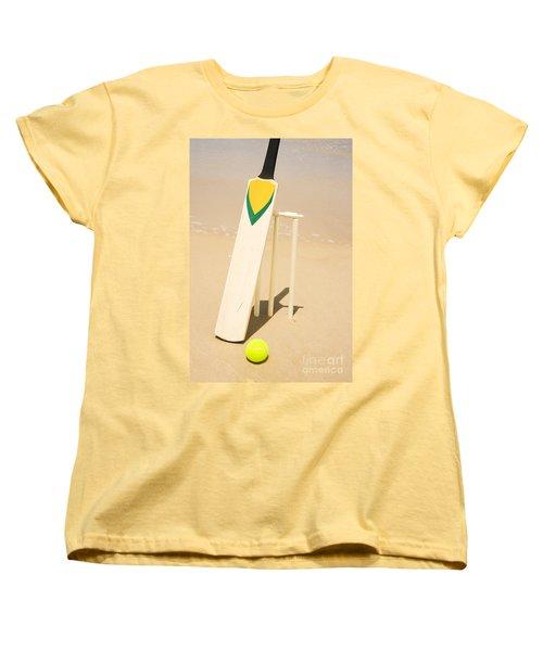 Summer Sport Women's T-Shirt (Standard Cut) by Jorgo Photography - Wall Art Gallery