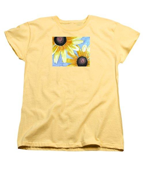 Summer Susans Women's T-Shirt (Standard Cut) by Angela Davies