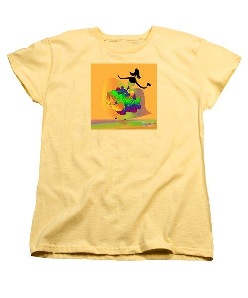 Women's T-Shirt (Standard Cut) featuring the digital art At The Prom by Iris Gelbart
