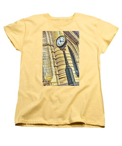 4 O'clock Train Women's T-Shirt (Standard Cut) by Sennie Pierson