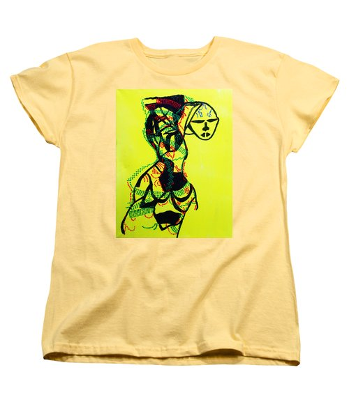 Dinka Lady - South Sudan Women's T-Shirt (Standard Cut) by Gloria Ssali